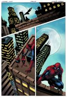 Spider-Man page by logicfun