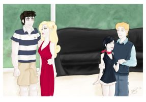 The Cullens 1 - Color by MargaHG