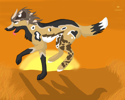 Run on the Savannah by Juicecup