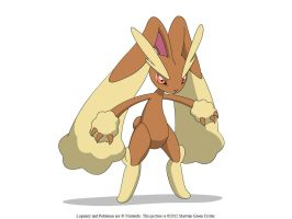 Lopunny by MarwanGreenCritter
