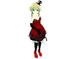 MMD Punk Princess GUMI WIP by megpoid625