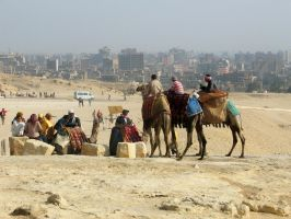 Overview of the Giza Plateau by Egil21