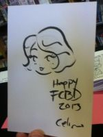 FCBD 2013 Sketches 1 by ChibiCelina