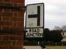 The Old Junction Sign by KaiHallarn111