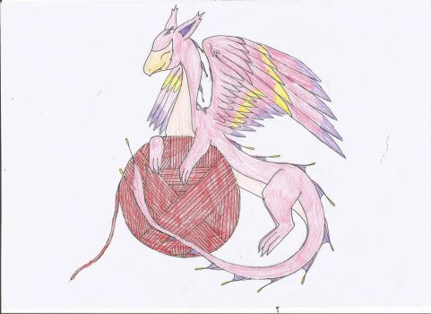 Skitty Dragon by TheDragon-Empress