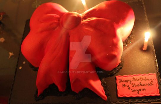 B'DAY Cake by miss-busy