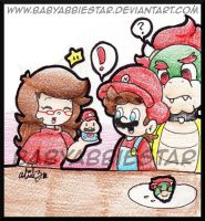 PC: Mario Cupcake and the Bowser Cookie by BabyAbbieStar
