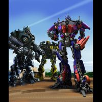 Transformers alliance by Rex-suler