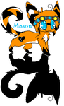 NEW CHARACTER!!! Mason :D by toxicfox100