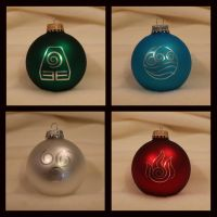 Avatar / Legend of Korra Christmas Ornaments by Yukizeal
