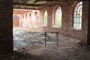 Old factory Stock 020 by Malleni-Stock