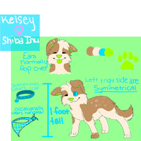 Kelsey for sale! *COMES WITH ART* by GLlTCHES