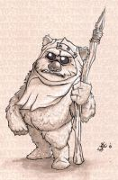 Ewok by StephenEusebio