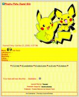 Pikachu-Pichu CSS Journal by Terrami