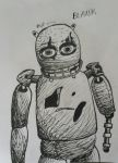 Five Nights at Candy's - Blank (Pen) by Agentwolfman626