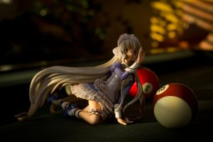 Chii After A Late Game Of Pool by DejanPelzel