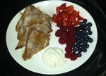 Eggy bread with fresh mixed berries and cinnamon by dimebagsdarrell