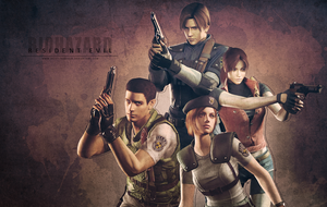 Resident Evil Wallpaper by VickyxRedfield