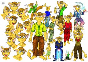 Talin Concept Sketches 2008 by SpaceBoy969