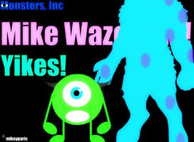 Monster, Inc: Mike Wazowski by MIKEYCPARISII