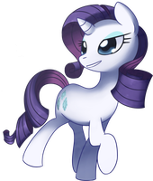 Rarity - Gorgeous by Solar-Slash