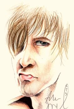 Rough Ambrose Drawing by AbbieSTABBY