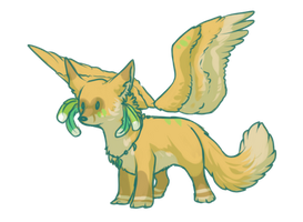 Winged Fox Auction OPEN by Lunakia