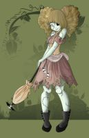 Cosette: The Victorian Zombie by Beka-Lyse