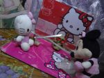 Hello Kitty Vs Minie Mouse Ninja Warriors Girls by jaycebrasil