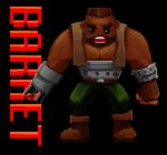 Barret Wallace Pixel-animation, Final Fantasy VII by CGHow
