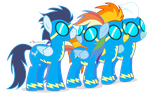 The Wonderbolts by dm29