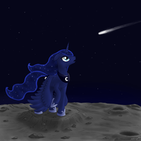 Princess Luna by WolfyPon