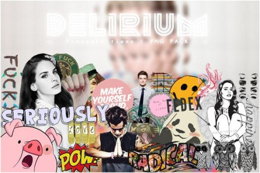 Delirium   .Png Pack by FranceEditions