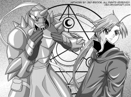 FMA: Between the Soul by J8d