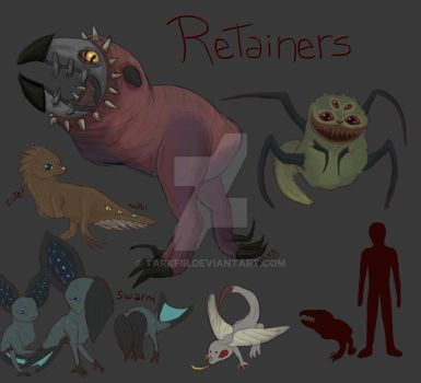 The Retainers, the servants by Tarkfir