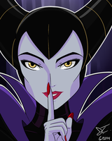 Maleficent by Snowbacon