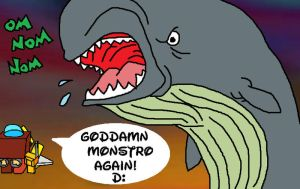 Grahh, Monstro by dragonwind15