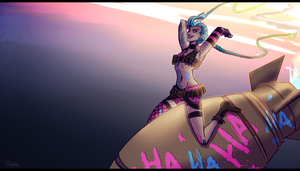 Get Jinxed - [Timer Background] by l-Tanks-l