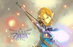 The Legend of Zelda Wii U - Link by Daveastation