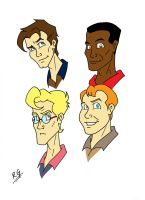 The Real Ghostbusters 1 by DANGERcomics