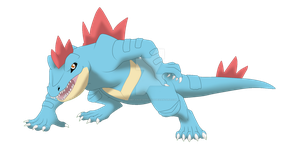 Coolness the Feraligatr by AnimeFan4Eternity23