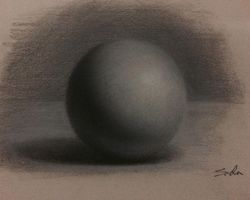 Sphere Study by Sidimention