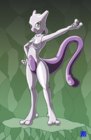 Living Suit ofMewtwo 2 by sinrin8210