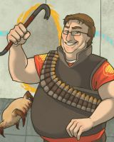Gabe Newell by Matuska