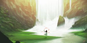 Waterfall by TH3PR0PHECY