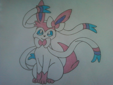 Sylveon by InvaderSkittles432