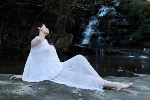 Charis - waterfall dreaming 1 by wildplaces