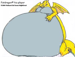 Fatdragon got BLIMPED by NightCrestComics