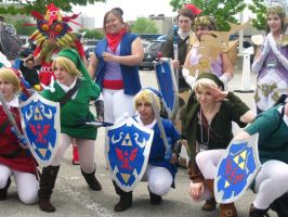AN11 Zelda crew by animenorth2011
