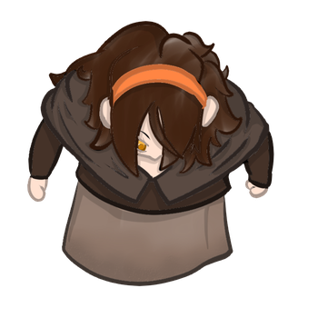 Roll20 free token: Priest girl by FlotVitality